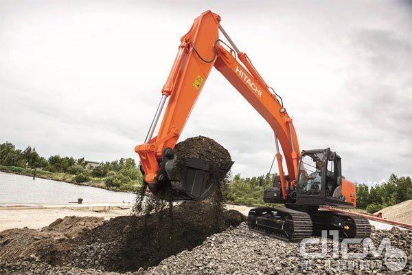 日立建机挖掘机
