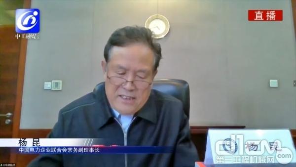 中国电力企业联合会常务副理事长杨昆