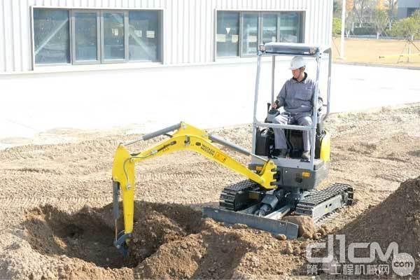 威克诺森EZ20小挖
