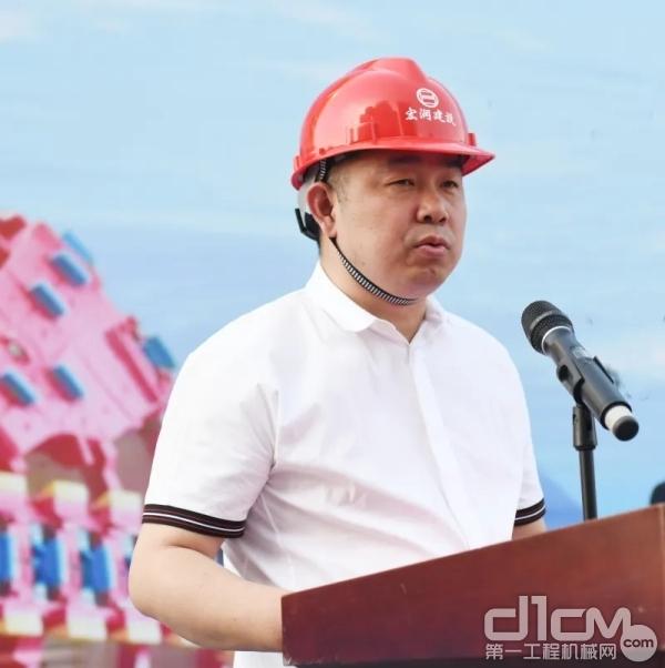 杭州中诚装备服务股份有限公司董事长蔡建中致辞