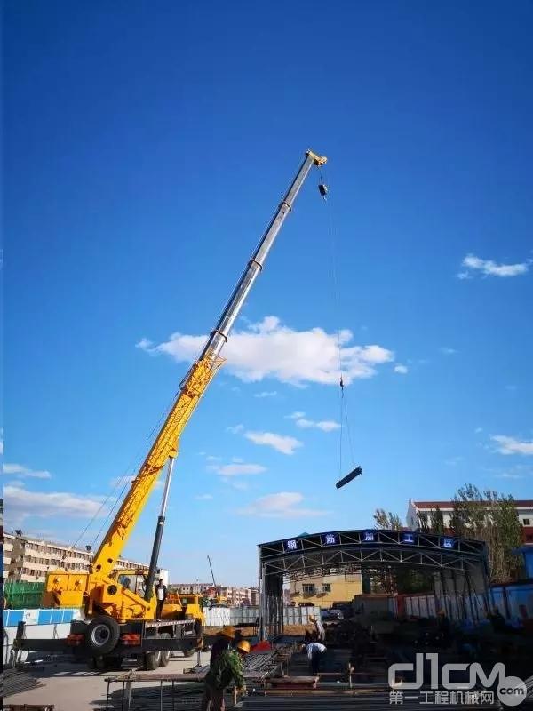 柳工起重机吊装作业