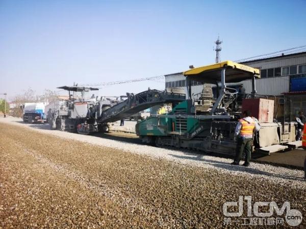 工地報告:維特根W 380 CR 成功助力G205唐山段升級改造