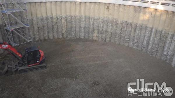 宝峨BG 36旋挖钻机完成的直径为880/900毫米的桩