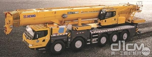 徐工G一代升级版百吨级XCT110_I