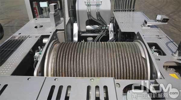 中联重科ZR240C-3的卷扬