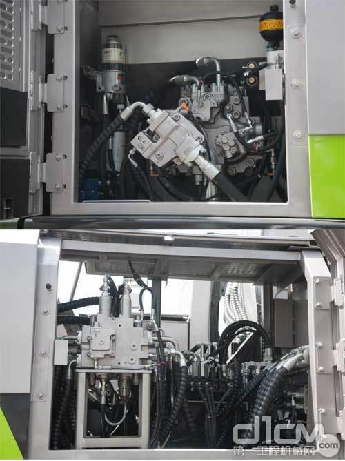 中联重科ZR240C-3泵室拍图