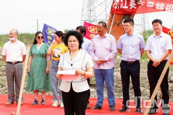 赛克思液压科技股份有限企业董事长吴赛珍