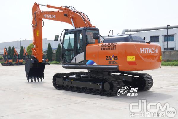 圖解說設備:20噸級的破拆王——日立ZX210K-5A