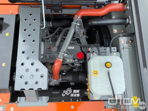 搭载五十铃GI-4HK1XKSA-02发动机