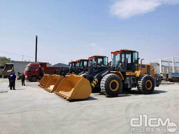 徐工6吨装载机助力东北绿色矿山建设