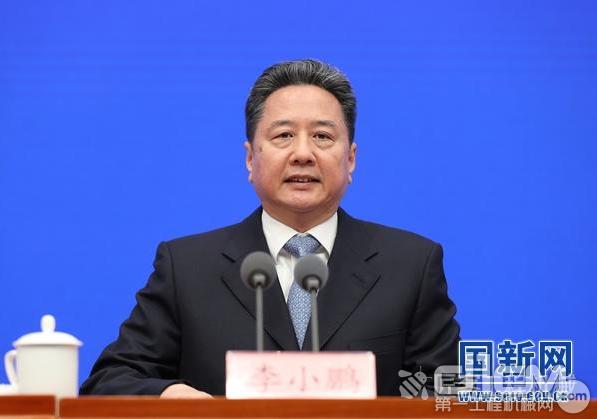 交通运输部部长李小鹏。来源:国新办官网