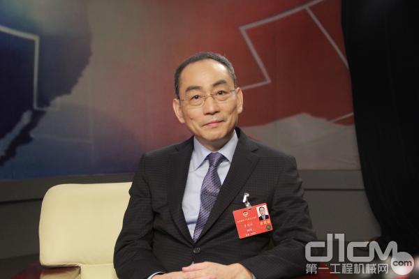 全国政协委员、中联重科党委书记、董事长詹纯新