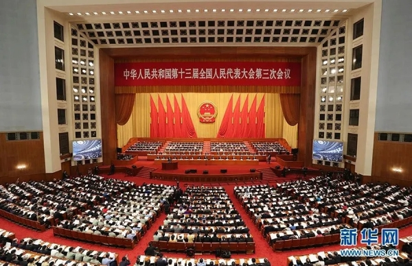 十三届全国人民代表大会第三次会议