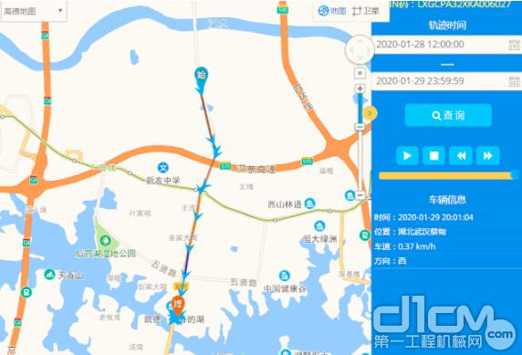 徐工汉云平台在线调度设备驰援火神山、雷神山等各地医院建设