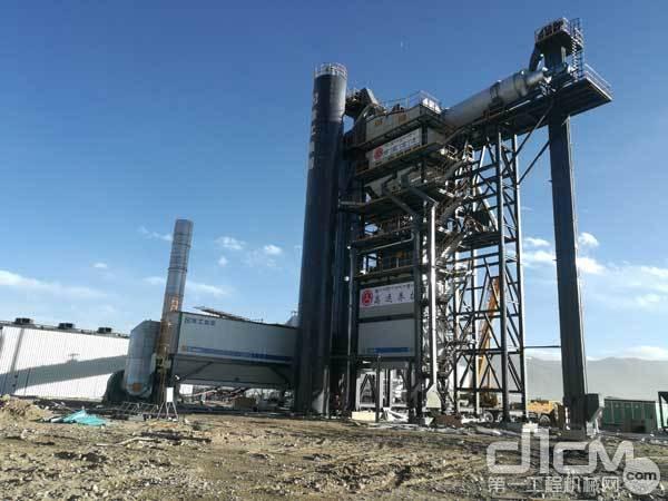 西藏拉萨3000型环保型沥青站及热再生站-