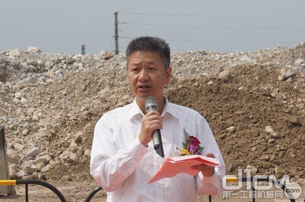 广西柳工机械股份有限公司总裁黄海波先生致辞