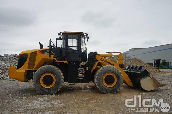 柳工CLG856H MAX智能铲装装载机