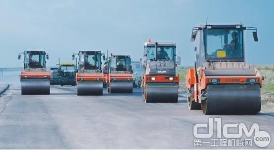 高品质的压实将大大降低建设成本并延长道路使用寿命