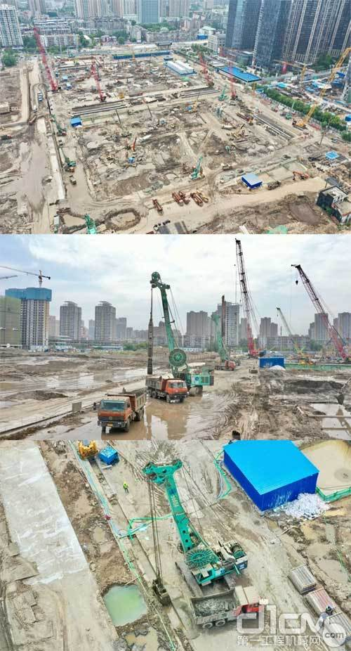 上海金泰SG系列连续墙抓斗为英雄城新地标保驾护航