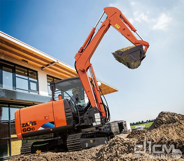 限量机型土木专用机——ZX60C-5A挖掘机