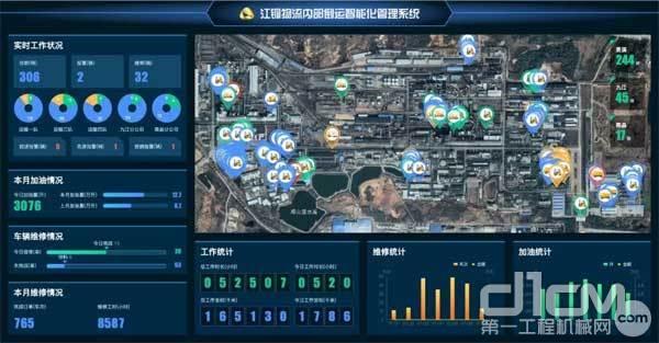 徐工发布的全新汉云工业互联网平台助力客户远程管理设备,提供远程监测、维修等服务