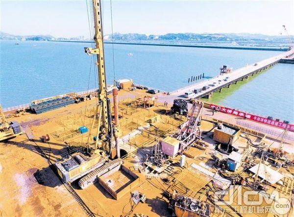 牛田洋特大桥工程