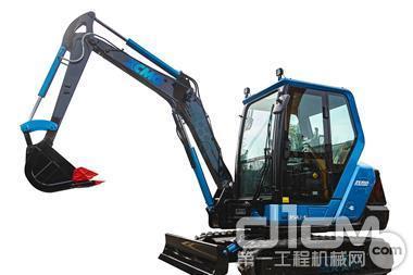 徐工3.2吨小型电动挖掘机