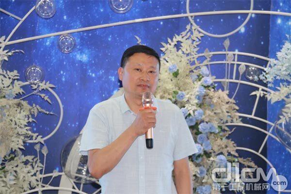 芜湖赛力机械有限公司总经理胡贤普讲话