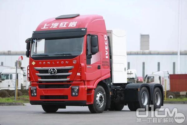 上汽红岩推出推出杰狮C6 LNG系列产品