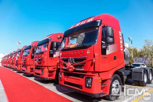 红岩杰狮C6 LNG系列产品