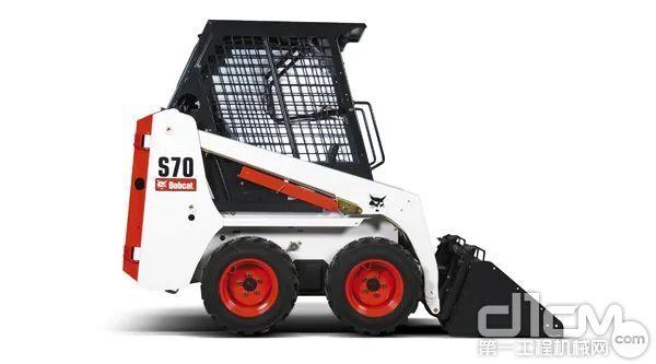 """""""网红""""S70是山猫紧凑型滑移装载机的代表,室内施工轻车熟路!"""