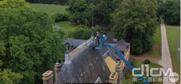 Genie® S®-85 直臂型高空作业平台助力法国城堡修复