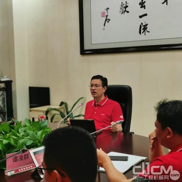 三一泵送董事长向儒安先生致辞