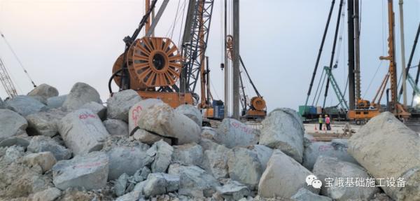 宝峨BG 38有效保证入岩垂直度及入岩效率
