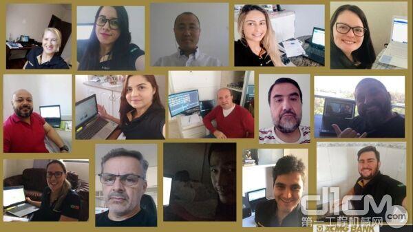 徐工巴西银行筹备组通过电话会议及视频会议等远程方式与央行对接