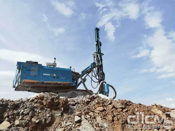 山河智能新一代SWDE165B单发潜孔钻机