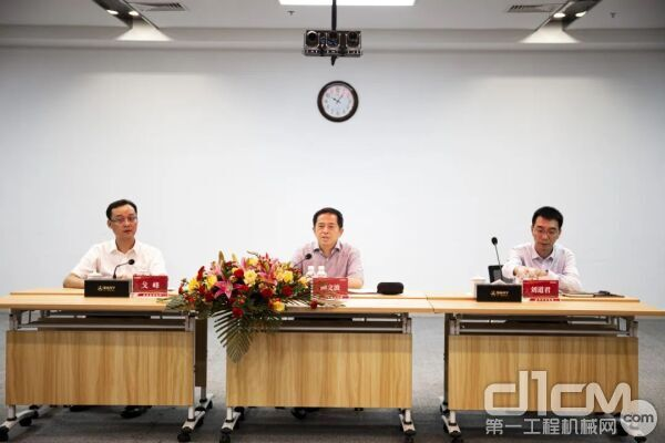 三一集团董事、三一重工总裁向文波出席开班典礼并作重要讲话