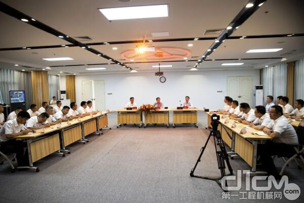 三一集团首期直销体系分公司总经理培训会场