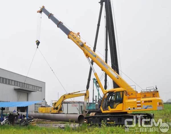 XGC25T,杭州某重点国际会议场馆建设
