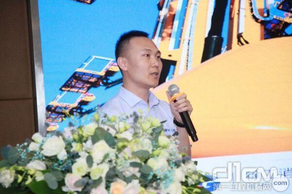 徐工消防安全装备有限公司技术中心副主任靳翠军还详细介绍了徐工XG一代产品的技术优势和亮点