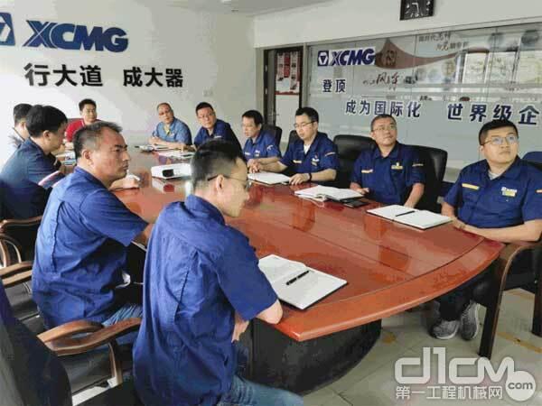 徐工铲运事业部副总经理刘兴锋到徐工重庆开展现场调研