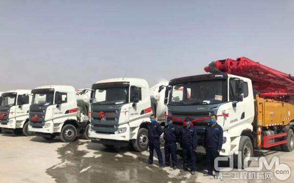 杨龙公司部分员工及三一设备