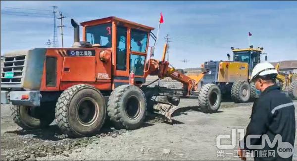 PY165在白云鄂博铁矿施工