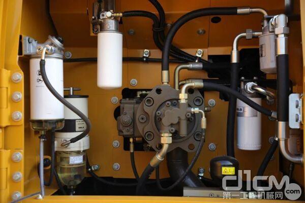 将保养点集中设置在主泵室,日常保维护非常便捷