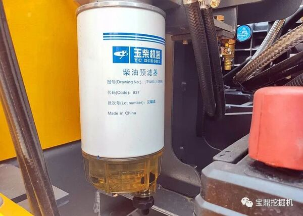 多层燃油过滤系统保护发动机