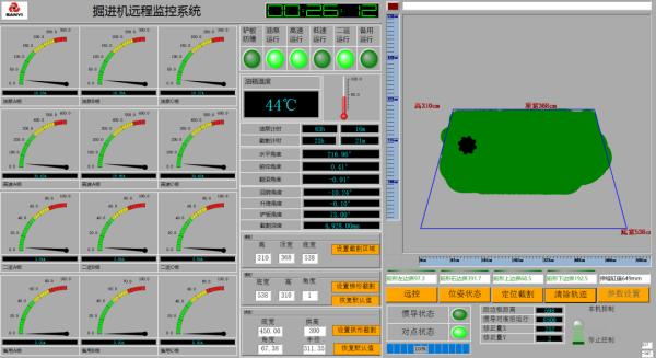 ▲远程智能控制系统控制界面