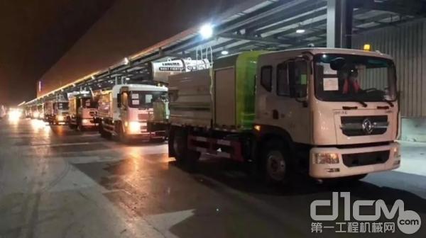 疫情期间搭载D6.7发动机的国六车辆出口阿联酋助力全球抗疫