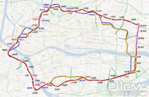 广州市中心城区地下综合管廊全长约48公里