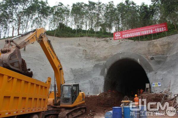 助力中老铁路建设
