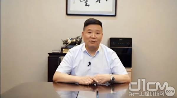 徐工机械副总裁、徐工巴西银行董事长吴江龙致辞